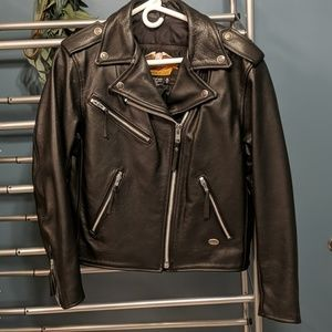 Harley Davidson Women's Small Leather Coat